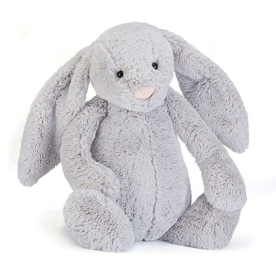Bashful Silver Bunny Huge - Tylers Department Store