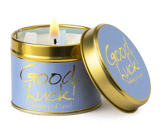 Good Luck Candle Tin by Lilyflame