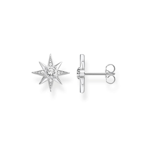 Thomas Sabo Star Stud Earrings, Sterling Silver