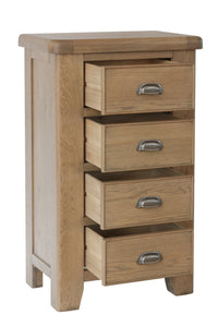 Hope 4 Drawer Narrow Chest