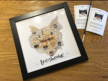 Load image into Gallery viewer, Leicestershire Fox Map Picture