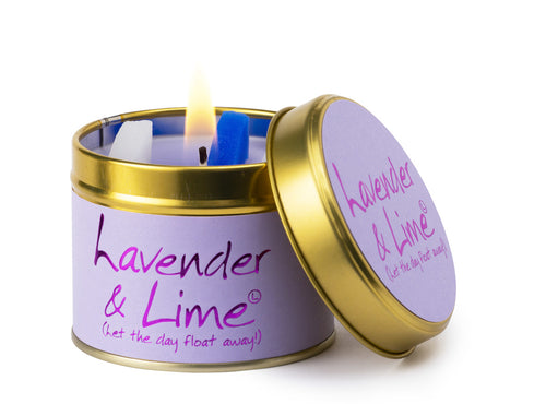 Lavender & Lime Candle by Lilyflame