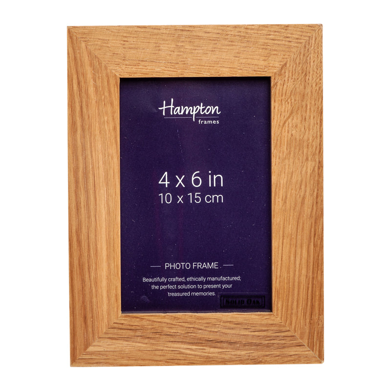 New England 4x6 Oak by Hampton Frames