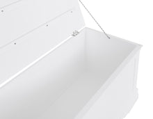 Load image into Gallery viewer, Swithland Blanket Box White