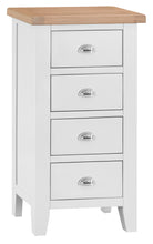 Load image into Gallery viewer, Malvern 4 Drawer Narrow Chest