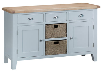 Malvern Large Sideboard Grey