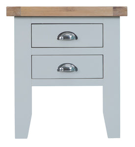 Malvern Lamp Table Grey