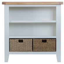 Load image into Gallery viewer, Malvern Small Wide Bookcase Grey