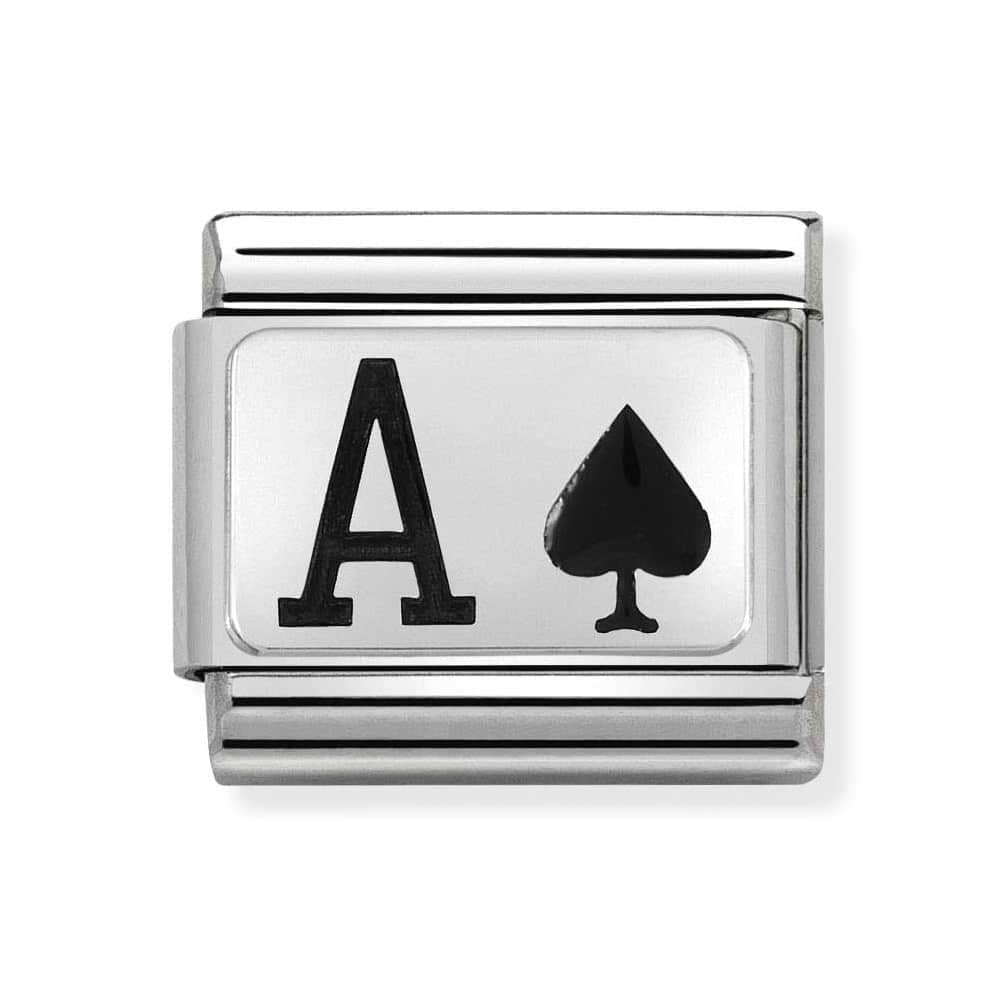 Nomination Ace of Spades Charm