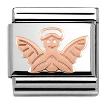 Load image into Gallery viewer, Nomination Rose Gold Angel Charm