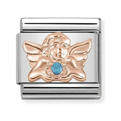 Nomination Rose Gold Angel of Children Charm