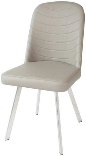 Twist Dining Chair - Cappuccino Bi Cast
