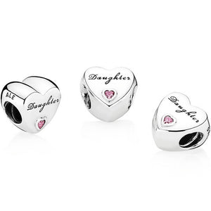 Pandora Family Daughters Love Charm