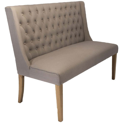 Cairo Dining Bench - Almond