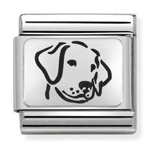 Load image into Gallery viewer, Nomination Oxidised Dog Charm