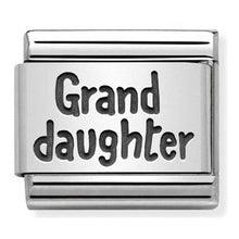 Load image into Gallery viewer, Nomination Oxidised Granddaughter Charm