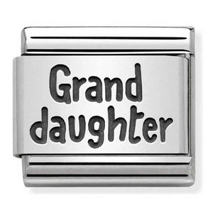 Nomination Oxidised Granddaughter Charm