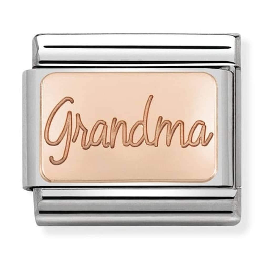 Nomination Rose Gold Grandpa Charm