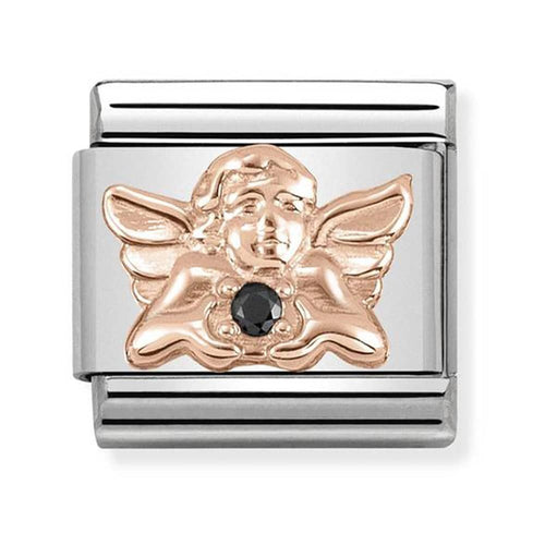 Nomination Rose Gold Gaurdian Angel Charm