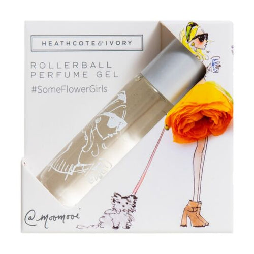 #SomeFlowerGirls Rollerball Perfume Gel by Heathcote & Ivory