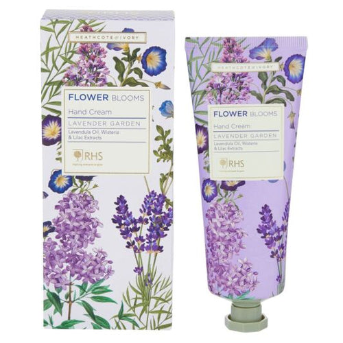RHS Flower Blooms Lavender Garden Hand Cream by Heathcote & Ivory