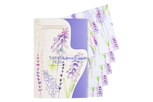 Lavender Fields Draw Liners x 5 by Heathcote & Ivory