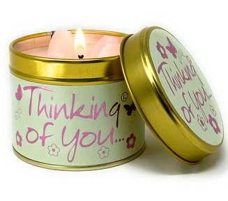 Thinking Of You Candle Tin by Lilyflame