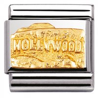 Nomination Yellow Gold Hollywood Charm