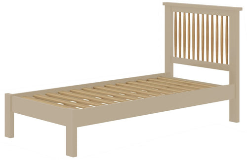 Cottage 3FT Single Bed Pebble - Tylers Department Store