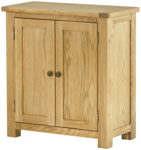 Cottage 2 Door Cupboard Oak