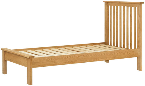 Cottage 3FT Single Bed Oak - Tylers Department Store