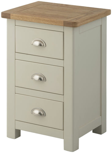 Cottage 3 Drawer Bedside