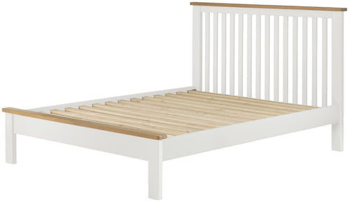 Cottage 4FT 6 Double Bed White