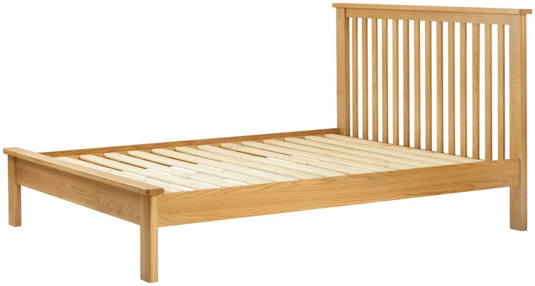 Cottage 5FT King Bed Oak - Tylers Department Store