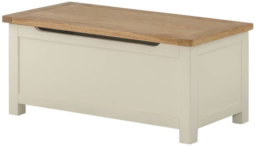 Cottage Blanket Box Cream - Tylers Department Store