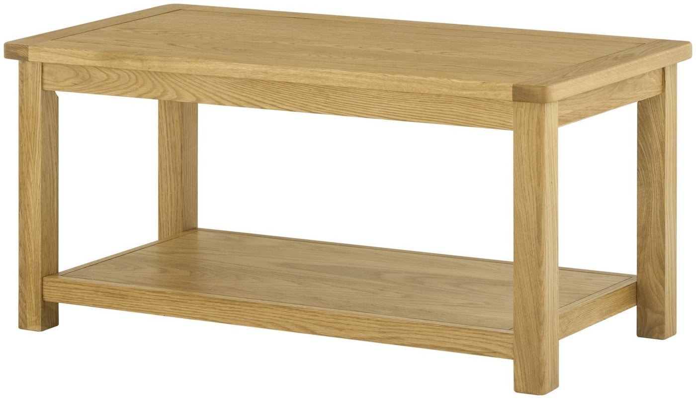 Cottage coffee table oak tylers department store web cottage coffee table oak geotapseo Gallery