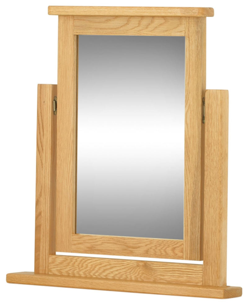 Cottage Vanity Mirror Oak - Tylers Department Store