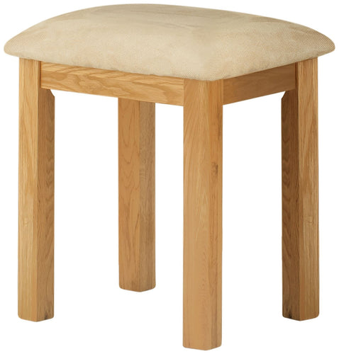 Cottage Dressing Stool Oak