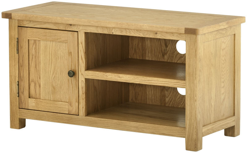 Cottage Small TV Unit Oak - Tylers Department Store