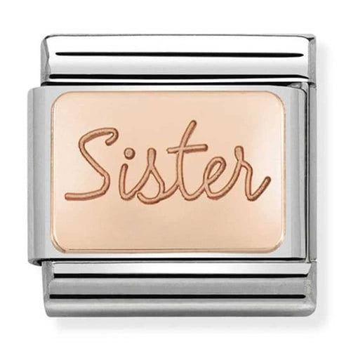 Nomination Rose Gold Sister Charm