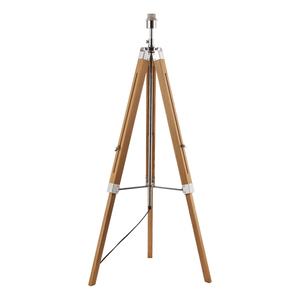Tripod Floor Lamp With Shade - Light Wood
