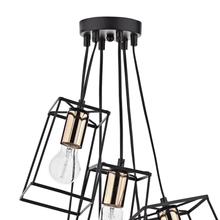 Load image into Gallery viewer, 6 Light Cluster Pendant Ceiling Light - Copper