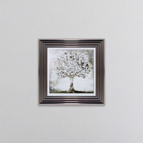 Money Tree Small Picture In a Metallic Frame