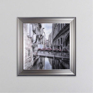 Large Venice 1 Picture - Silver Frame