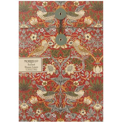 Strawberry Thief Morris Draw Liners by Heathcote & Ivory