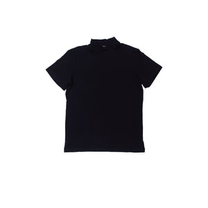 Long neck Tee black