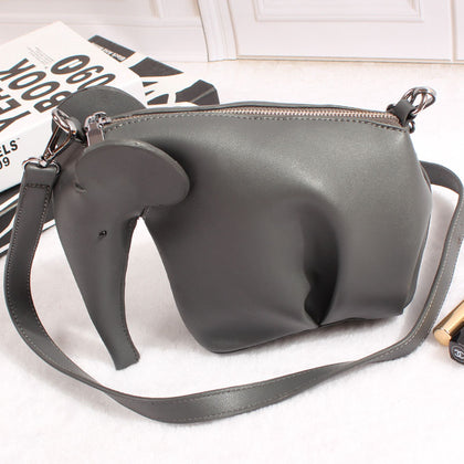 Elephant Shaped Cross-body Handbag