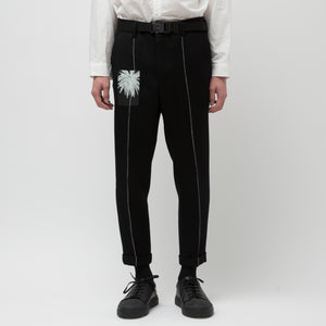 Wool Turn up Pants (8月末入荷予定)