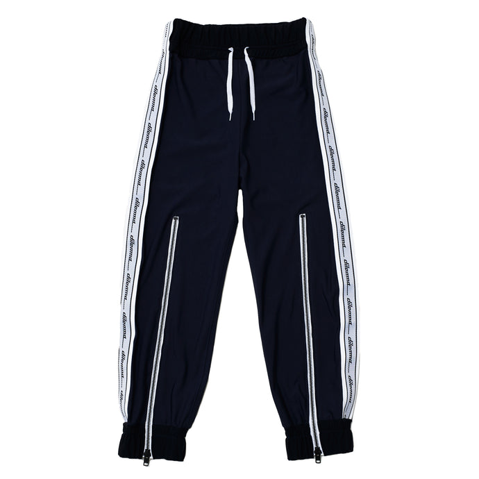 Long zipper Track Pants