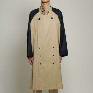 Side Slit Ragran Coat